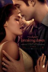 Twilight Saga: Breaking Dawn Part 1 movie poster [Pattinson & Stewart]