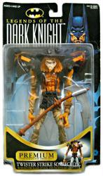 Legends of the Dark Knight: Twister Strike Scarecrow figure (Kenner)