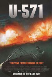 U-571 movie poster (video version) 27x40