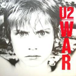 U2 poster: War & The Unforgettable Fire vintage LP/Album flat (VG)