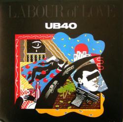 UB40 poster: Labour of Love vintage LP/Album flat (1983)