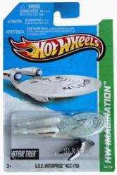 Hot Wheels HW Imagination: U.S.S. Enterprise NCC-1701 diecast vehicle