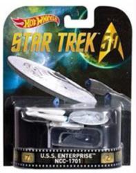 Hot Wheels Retro Entertainment: Star Trek U.S.S. Enterprise NCC-1701