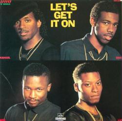 "UTFO poster: Let's Get It On vintage 12"" single flat (U.T.F.O.)"