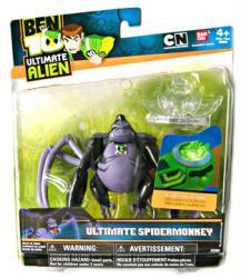 Ben 10 Ultimate Alien: Ultimate Spidermonkey action figure (BanDai)