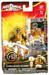 Power Rangers Megaforce: Ultra Black Ranger action figure (Bandai)