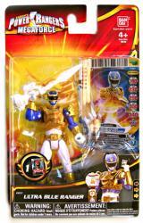 Power Rangers Megaforce: Ultra Blue Ranger action figure (Bandai)
