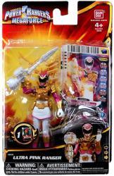 Power Rangers Megaforce: Ultra Pink Ranger action figure (Bandai)