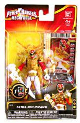 Power Rangers Megaforce: Ultra Red Ranger action figure (Bandai)