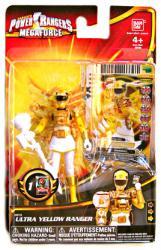 Power Rangers Megaforce: Ultra Yellow Ranger action figure (Bandai)