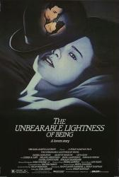 The Unbearable Lightness of Being poster [Daniel Day-Lewis] 27x40