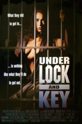 Under Lock and Key movie poster [Wendi Westbrook] women-in-prison film
