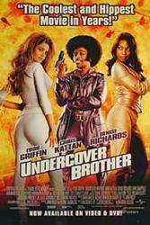 Undercover Brother movie poster [Eddie Griffin, Denise Richards] 27x40