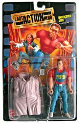 Last Action Hero: Undercover Jack action figure (Mattel/1993)