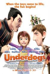 Underdogs movie poster [animated film] original 27x40 U.S. one-sheet