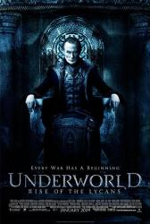 Underworld: Rise of the Lycans movie poster [Bill Nighy]
