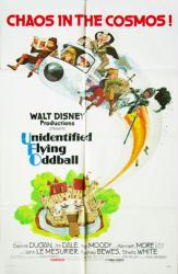Unidentified Flying Oddball movie poster (Walt Disney) original 27x41