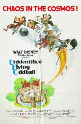 Unidentified Flying Oddball movie poster (Disney) 1979 original 27x41