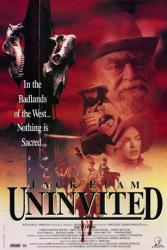Uninvited movie poster [Jack Elam] 1993 video poster