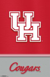 University of Houston Cougars poster: Logo (NCAA) 22x34