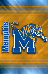 University of Memphis Tigers poster: Logo (22 1/2'' x 34'')
