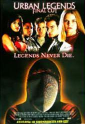 Urban Legends: Final Cut movie poster [Eva Mendes, Anthony Anderson]
