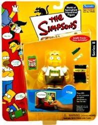 The Simpsons Series 8: Uter action figure (Playmates/2002)