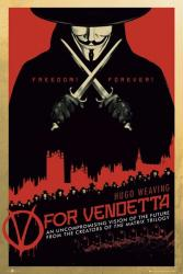 V for Vendetta movie poster (24'' X 36'') New