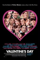 Valentine's Day movie poster [Julia Roberts/Jamie Foxx/Anne Hathaway]