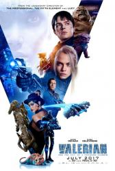 Valerian and the City of a Thousand Planets movie poster (27x40)