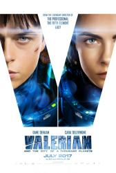 Valerian and the City of a Thousand Planets poster (27x40) advance