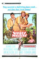 Valley of Mystery movie poster [Richard Egan, Peter Graves] 27x41
