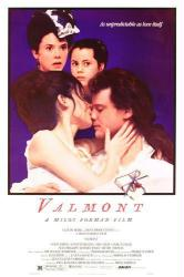 Valmont movie poster [Colin Firth, Annette Bening] original 27x41