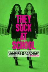 Vampire Academy movie poster [Zoey Deutch, Lucy Fry] 27x40 advance