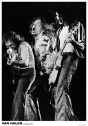 Van Halen poster: Rotterdam 1978 (23 1/2'' X 33'')