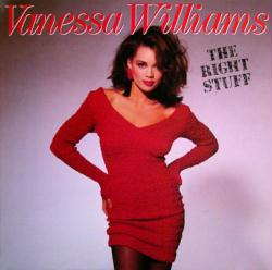 Vanessa Williams poster: The Right Stuff vintage LP/Album flat