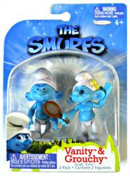 The Smurfs: Vanity & Grouchy figures (JAKKS Pacific/2011)