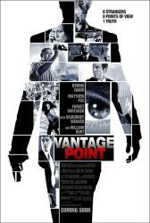 Vantage Point movie poster [Forest Whitaker/Dennis Quaid/William Hurt]