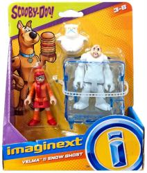 Imaginext Scooby-Doo: Velma & Snow Ghost figures (Fisher Price)