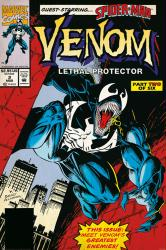 Venom: Lethal Protector poster: Issue #2 cover (24x36) Marvel 1993