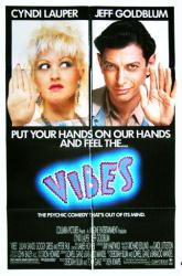 Vibes movie poster [Cyndi Lauper, Jeff Goldblum] 27x41 original