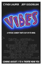 Vibes movie poster (1988) original 27x41 advance