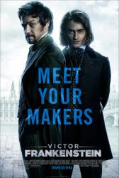 Victor Frankenstein movie poster [James McAvoy, Daniel Radcliffe]