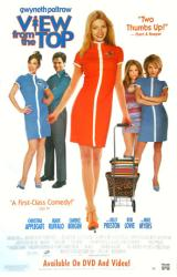 View from the Top movie poster [Gwyneth Paltrow/Applegate] video