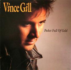 Vince Gill poster: Pocket Full of Gold vintage LP/Album flat
