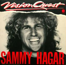 Sammy Hagar poster: Vision Quest soundtrack vintage LP/Album flat