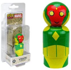 Marvel: Vision Pin Mate #31 wooden figure (Bif Bang Pow)
