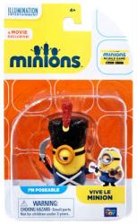 Minions: Vive Le Minion poseable figure (Thinkway Toys)