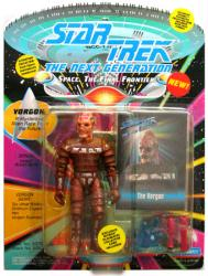 Star Trek The Next Generation: Vorgon action figure (Playmates/1993)