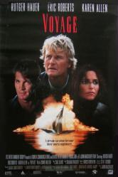 Voyage movie poster [Rutger Hauer, Eric Roberts, Karen Allen] 20x30